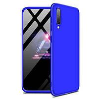 Чехол GKK 360 для Samsung Galaxy A30S / A307 Бампер оригинальный Blue, фото 1