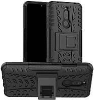 Чехол Armor для Xiaomi Redmi 8A бампер противоударный оригинальный черный, фото 1