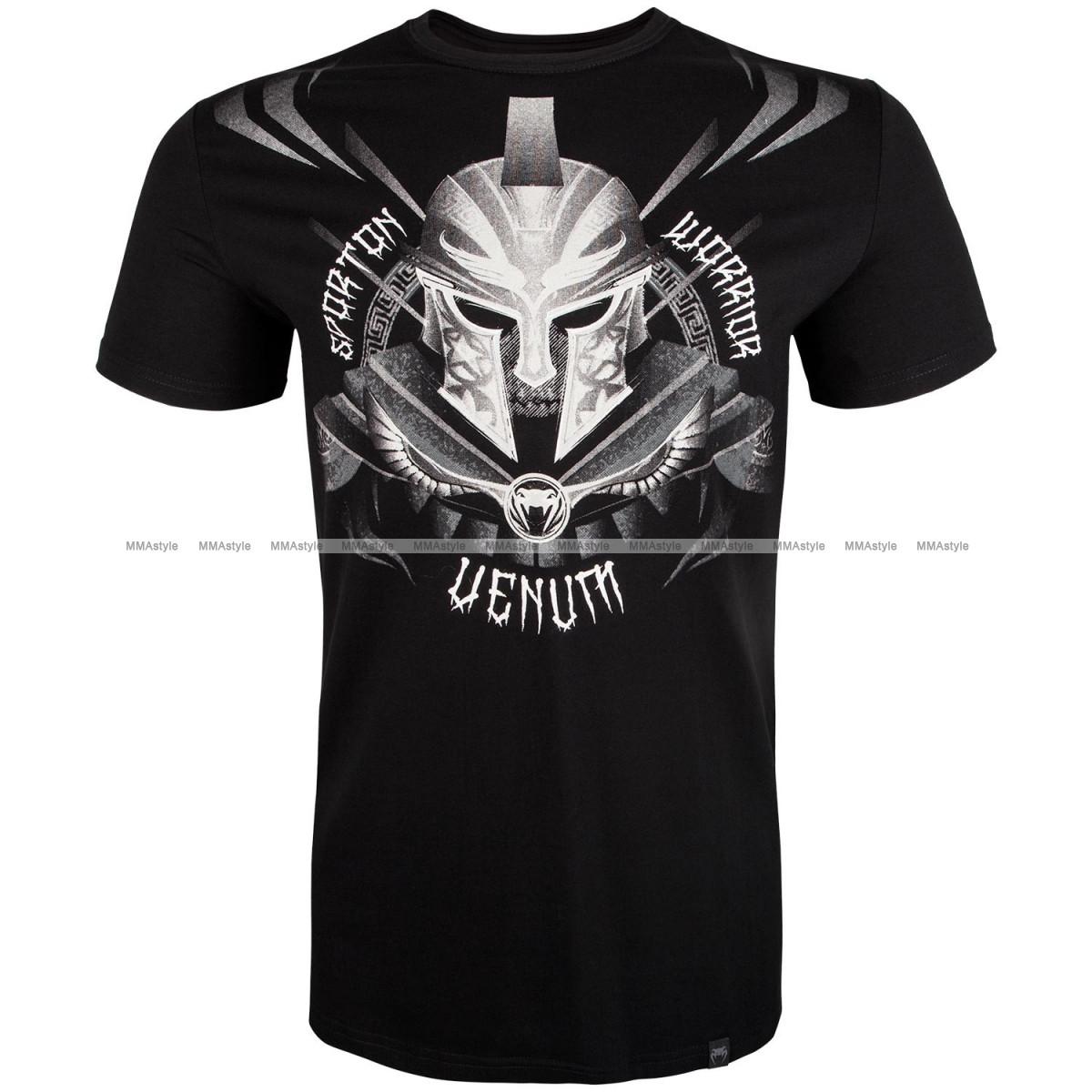 Футболка Venum Gladiator 3.0 T-shirt Black White
