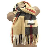 Женский шерстяной шарф Sky Cashmere цвет Burberry light