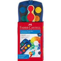 Акварельные сухие краски Faber Castell CONNECTOR 12 цв. (125050)