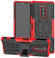 Чехол Armor для Nokia 3.1 Plus / TA-1104 бампер противоударный оригинальный красный, фото 1