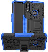 Чехол Armor для Samsung A10s / A107F бампер противоударный оригинальный синий, фото 1