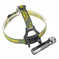 Налобный фонарь BORUiT XPL V5 1000LM 18650 3-режима, фото 2
