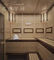 """Сауна под ключ. Сауна сборно-щитовая """"Оптима"""" 10. Строительство сауны и бани."""
