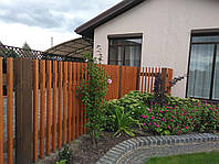 Забор из дерева под старину, фото 1