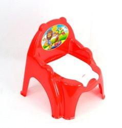 Горшок детский 3244 кресло, Технок, 3 цвета (красный, оранжевый, розовый)