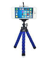 Гибкий держатель штатив для телефона / фотоаппарата синий