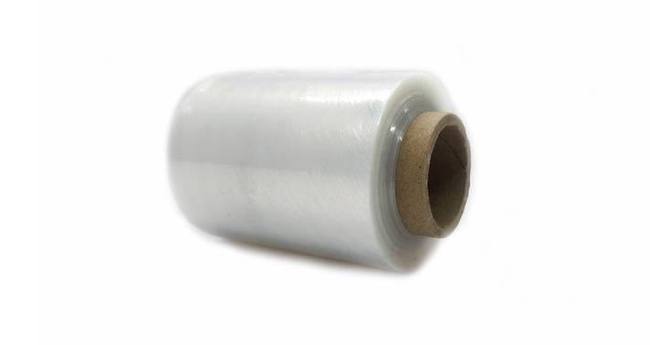 Стрейч пленка техническая, упаковочная MINI, 1 сорт, 125х20х100 м, вес  — 0.3 кг, фото 2
