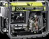 Однофазный дизельный генератор Könner & Söhnen KSB 6000DE (5.5 кВт), фото 5