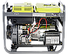 Однофазный дизельный генератор Könner & Söhnen KSB 6000DE (5.5 кВт), фото 2