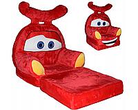 Детское мягкое кресло тачка МакКвин