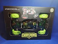 Машинка перевертыш на радиоуправлении Champions (35СМ Green)