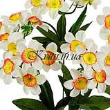 Искусственные цветы букет нарциссов, 38см, фото 2