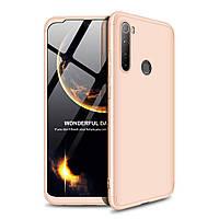 Чохол GKK 360 для Xiaomi Redmi Note 8 бампер оригінальний Gold