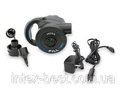 Насос электрический аккумуляторный Intex Quick Fill Indoor-Outdoor intex 66622 (220 V + 12 V)