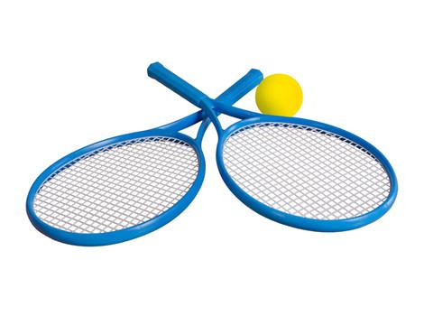 """Ракетка 2957 """"ТехноК"""", детский набор для игры в тенис"""
