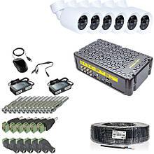 Комплект видеонаблюдения KIT-3MP-6CC