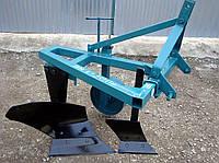 Плуг для минитрактора навесной с предплужником и опорным колесом ПН 1-30 ПР