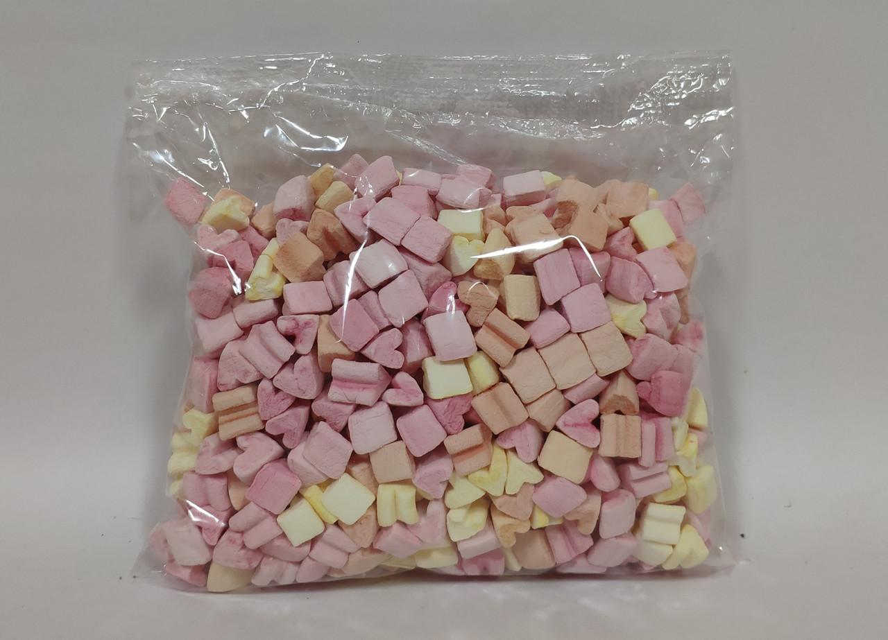 Маршмэллоу 600 г. «Мелки Multicolored с ароматом Бабл-Гама (Bublle Gum)»