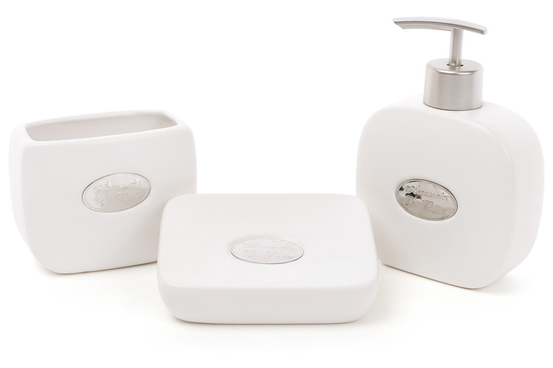 Набор аксессуаров для ванной комнаты 3 предмета Bona Di 851-254