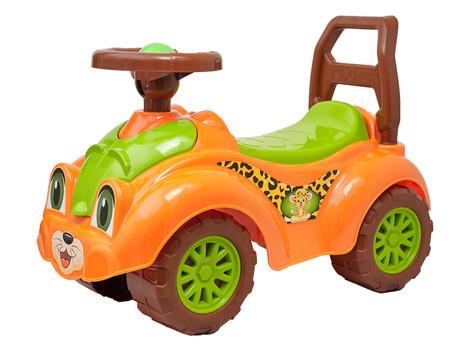 Автомобиль для прогулок ТехноК 3268 оранжевый