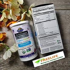 Garden of Life, Dr. Formulated Дитячі органічні пробіотики Kids+ Shelf Stable, 30 Capsules, офіційний