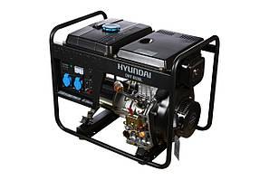 Дизельный генератор 5 кВт Hyundai Diesel DHY 6500L (Бесплатная доставка по Украине)