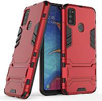 Чехол Iron для Samsung Galaxy M30s / M307F Бампер противоударный Red, фото 1