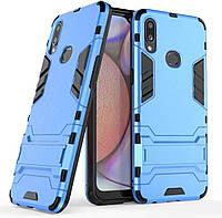 Чохол Iron для Samsung Galaxy A10s / A107F Бампер протиударний Blue