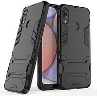 Чохол Iron для Samsung Galaxy A10s / A107F Бампер протиударний Black