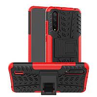 Чехол Armor для Xiaomi Mi 9 Lite бампер противоударный оригинальный красный
