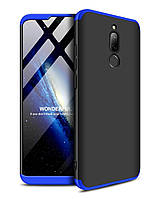 Чехол GKK 360 для Xiaomi Redmi 8 бампер оригинальный Black-Blue, фото 1