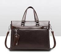 Мужская сумка для документов и ноутбука