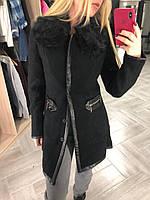 Пальто женское стильное кашемировое NN