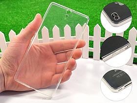 Ультратонкий 1мм силиконовый чехол для Sony Xperia C5 Dual E5533
