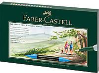 Акварельные маркеры Faber Castell ALBRECHT DURER 16 цв.+ кисточка (160318)