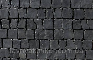 """Тротуарний камінь """"Бруківка"""" 80х80х30"""