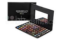 Профессиональная палитра теней 88 тропических оттенков Tropical Shimmer BH Cosmetics Оригинал