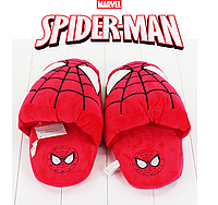 Мягкие плюшевые тапочки Спайдермен / Spiderman