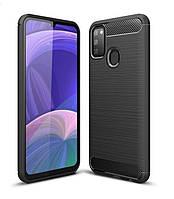 Чехол Carbon для Samsung Galaxy M30s / M307F бампер оригинальный Black, фото 1