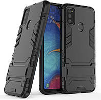 Чехол Iron для Samsung Galaxy M30s / M307F Бампер противоударный Black, фото 1