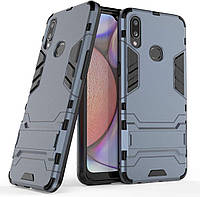 Чохол Iron для Samsung Galaxy A10s / A107F Бампер протиударний Dark-Blue