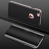 Чехол Mirror для iPhone 5 / 5s / SE книжка зеркальная Black, фото 1