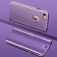Чехол Mirror для iPhone 5 / 5s / SE книжка зеркальная Purple, фото 1