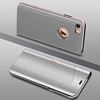 Чехол Mirror для iPhone 7 / iPhone 8 книжка зеркальная Silver, фото 1