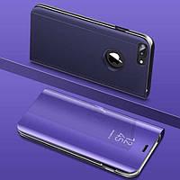 Чехол Mirror для iPhone 7 Plus / iPhone 8 Plus книжка зеркальная Purple, фото 1