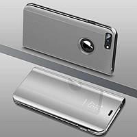 Чехол Mirror для iPhone 7 Plus / iPhone 8 Plus книжка зеркальная Silver, фото 1