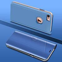 Чехол Mirror для iPhone 6 / 6s книжка зеркальная Blue, фото 1