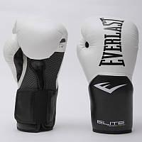 Перчатки боксерские PU на липучке EVERLAST P00001197 PRO STYLE ELITE